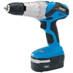 Draper 18v Cordless Hammer Drill (RRP £98.18)